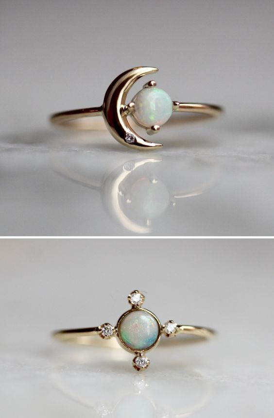 sosuperawesome:     Rings by Liesel Love on Etsy     Browse more curated rings     So Super Awesome is also on Facebook, Pinterest and Instagram