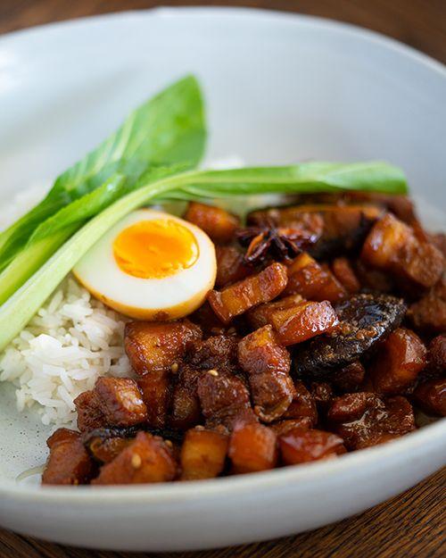 Taiwanese Braised Pork Rice Marion S Kitchen Recipe Braised Pork Asian Recipes Pork