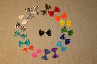 Duck tape bows. DUCK!