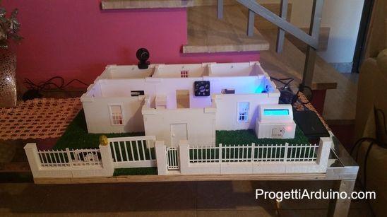 Casa Domotica Stampata In 3d Con Arduino Progetti Arduino En