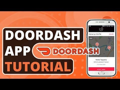 How To Use The Doordash Driver App Guide Tutorial For New Dashers Youtube Driver App Tutorial Doordash