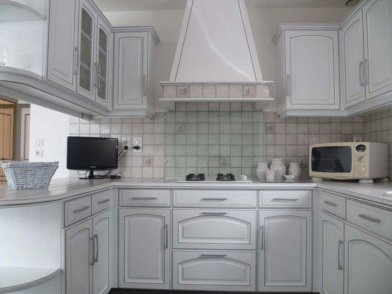 Relooker sa cuisine en blanc mobilier pinterest cuisine for Relooker sa cuisine en chene