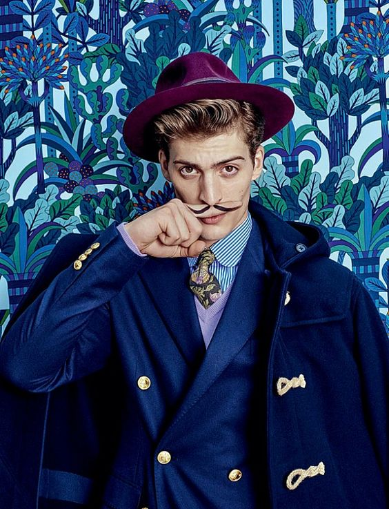 Michael Woolley shoots for Italy's Style Magazine