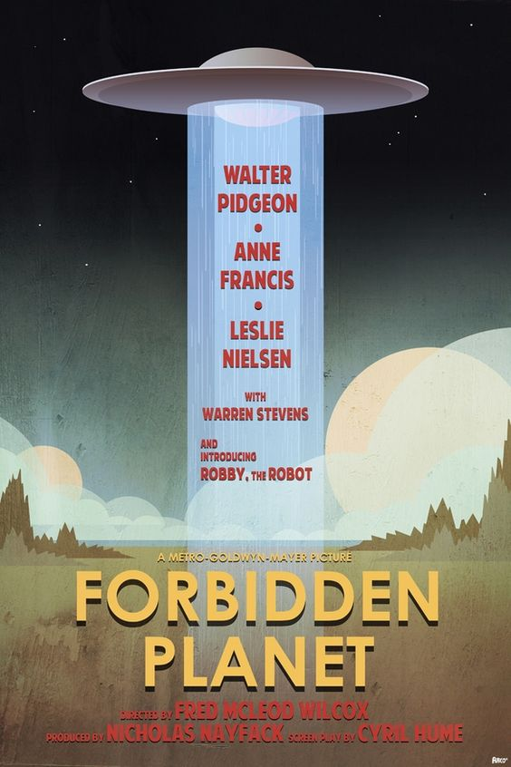 Forbidden Planet. sci-fi-forbidden-planet