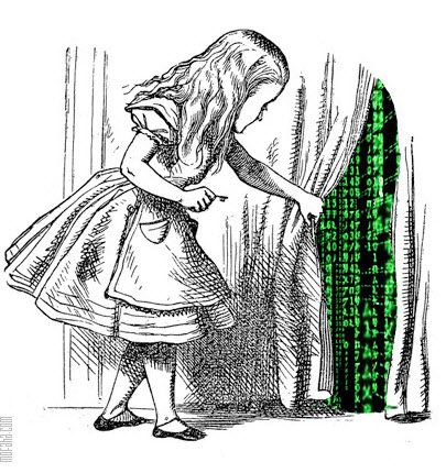 You take the red pill - you stay in Wonderland and I show you how deep the rabbit-hole goes. The Matrix