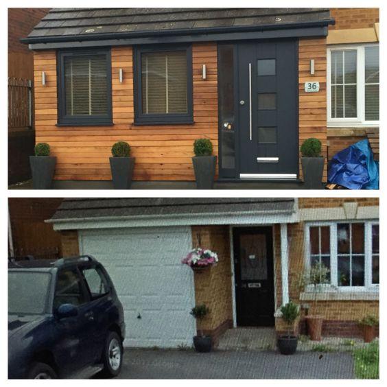 Genial Garage Conversion Http://garageremodelgenius.com/category/garage Conversion  Ideas/   Stunning Garage Doors   Pinterest   House, Extensions And Porch
