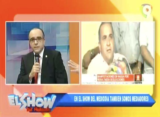 Comentarios De Aristides Victoria, Senador Actual Del PLD En La Provicia Maria Trinidad Sanchez