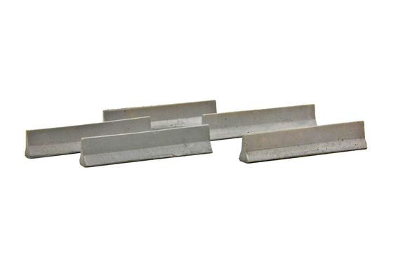 Jersey Barriers - Resin - 5 Count
