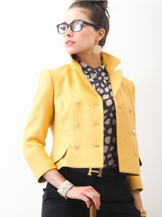Audrey Jacket:  Two Penny Blue