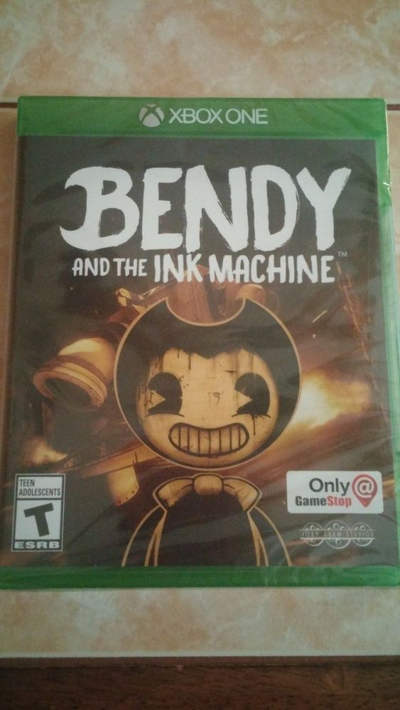 Xbox One Bendy And The Ink Machine Xbox One Brand New Sealed Vhtf