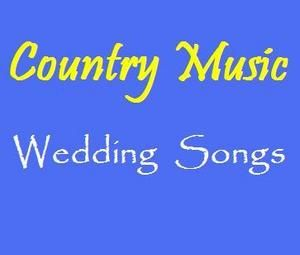 If it were up to me, we would play only country at our wedding.  To bad my fiance hates it.  I'll sneak several songs into the playlist though :)