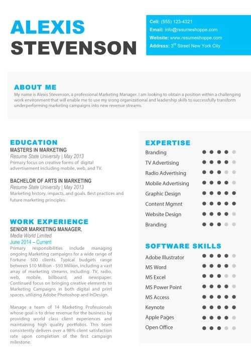 Creative Resume Templates for Mac & Apple Pages ٩(͡๏̯͡๏)۶ ...
