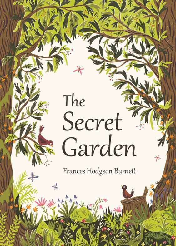Book Cover Illustration Rates Uk ~ Book cover illustration for the secret garden by frances