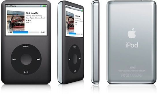 Identifying iPod models