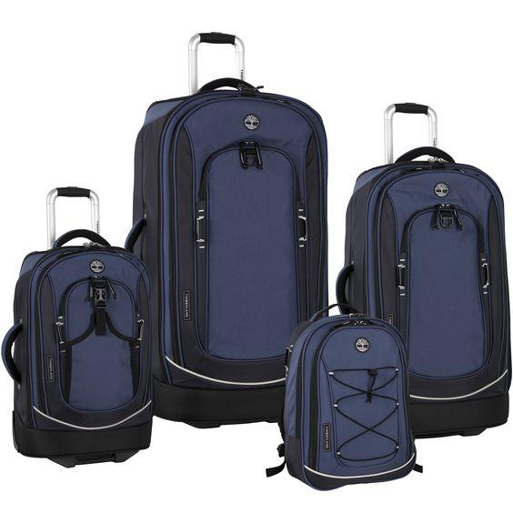 Timberland Claremont 4 Piece Wheeled Luggage Set