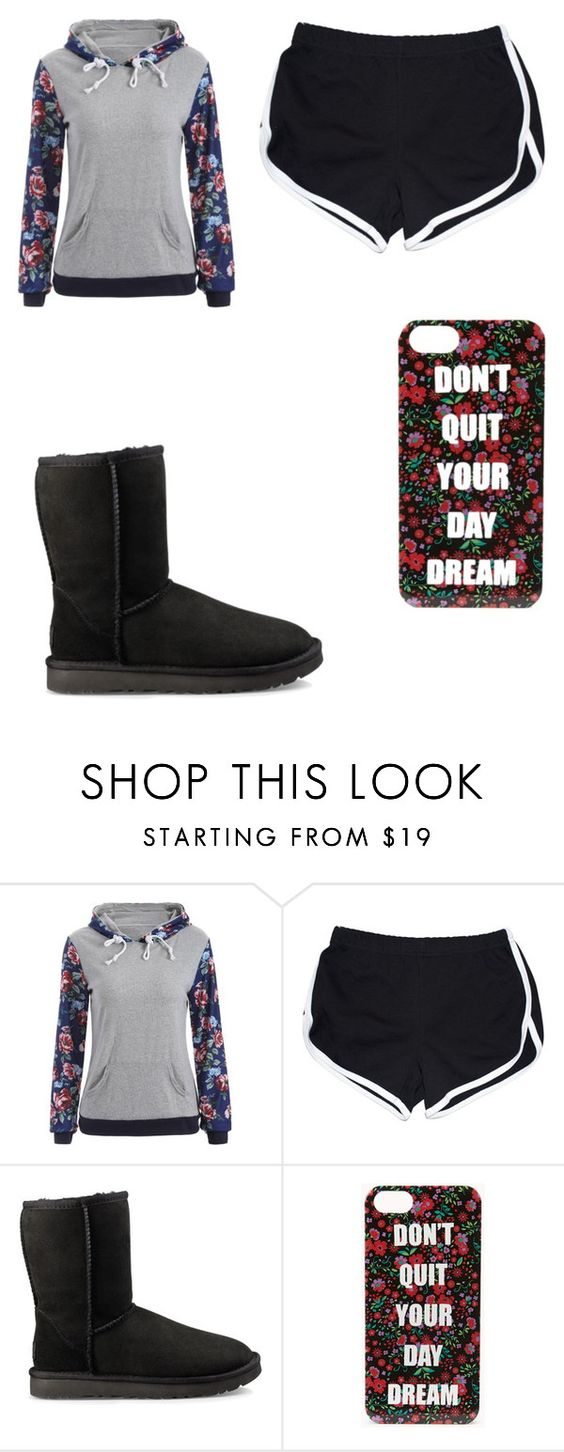 """""""Untitled #841"""" by karinacabrera ❤ liked on Polyvore featuring UGG and Forever 21"""