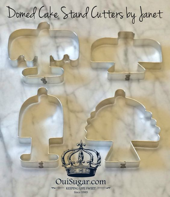 From Captain's Daughter to Army Mom: My Domed Cake Stand Cutters in the hands of True cookie Artists!