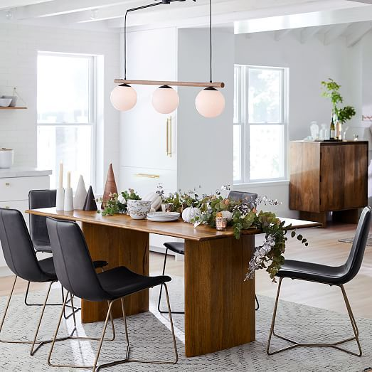Anton Solid Wood Bar In 2020 Wood Dining Table West Elm Dining