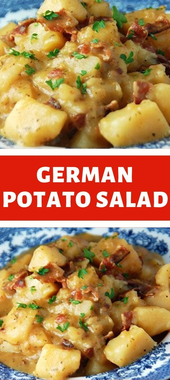Potato Salad With Cream And Chicken Soup