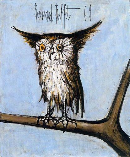 Bernard Buffet, French (1928-1999), Expressionism