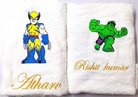 HUlk towel set