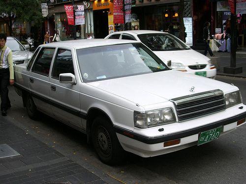 Hyundai Grandeur, Hyundai's first luxury car. Today's Grandeur is called the Azera in the U.S. market.