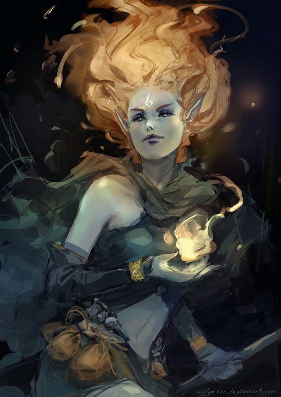 Dark elf sorceress aditya777