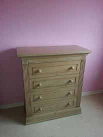 the dresser for our daughter April. I am due July 5, 2013.
