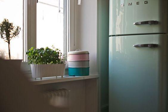 puertas correderas laundry room lavandería Ideas deco para un piso nórdico pequeño encimera hormigón decoracion diseño interiores blog de decoración nórdica escandinava amueblar pasillos grandes