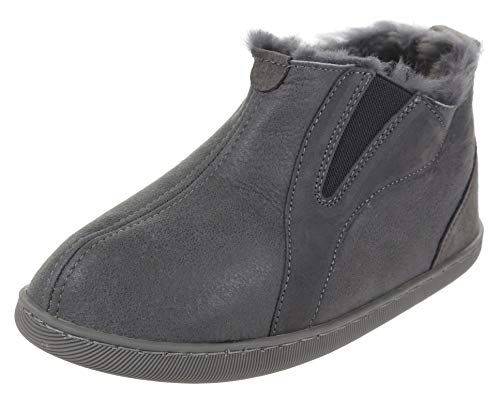 cheap price sale online sale retailer Great for Vogar Mens Sheepskin Leather Slipper Boots VG-35 ...