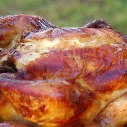 Roast Chicken - Moist and delicious roast chicken.