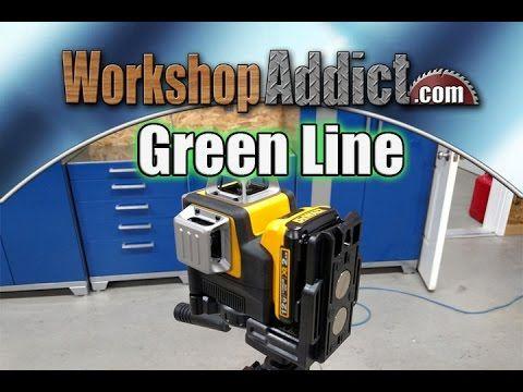 Dewalt Dw089lg Green Line Laser Review Youtube In 2020 Dewalt Line Laser