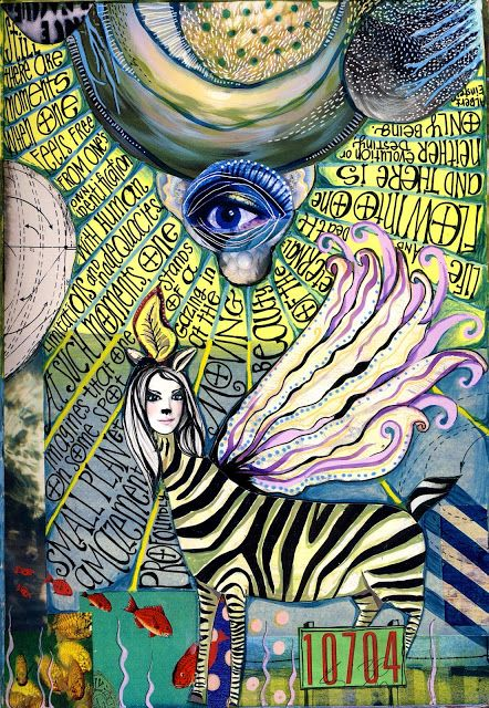 Einstein quote Teesha Moore  teeshascircus.blogspot.com