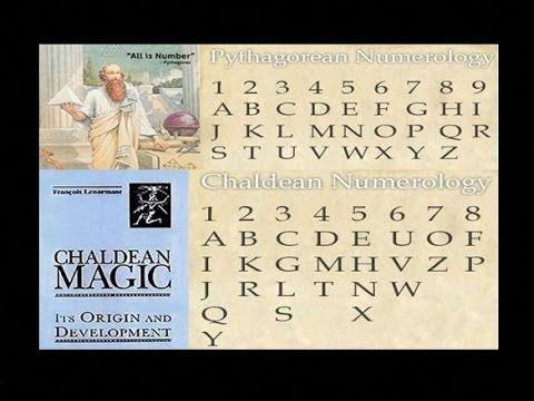Pythagorean And Chaldean Numerology Chart Explained Calculator