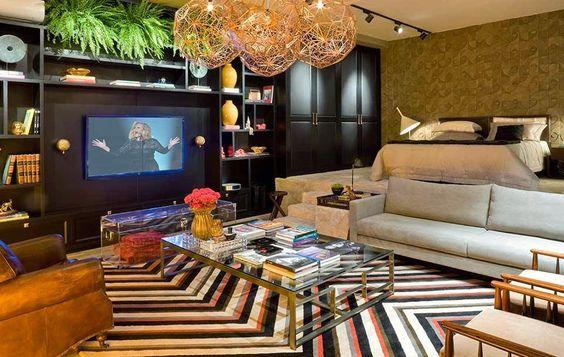 Estampa chevron: o zigue-zague é tendência na decoração!