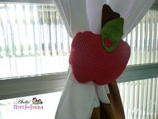 Bandô de maças com cortina embutida