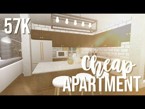 Roblox Bloxburg Mansion Inside Roblox Bloxburg Cheap Apartment 57k Youtube Cheap