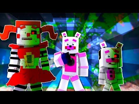 Funtime Freddy S Friends Are Infected Minecraft Fnaf Roleplay