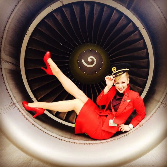 Virgin Atlantic Irish Stewardess @mary_wade
