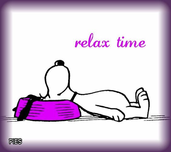 Relaxing Snoopy: