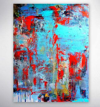 bild bunt modernes acrylbild gemalde originale unikate bilder modern abstrakte kunstgalerie online shop galerie kaufen abstract art canvas rot kunst frau
