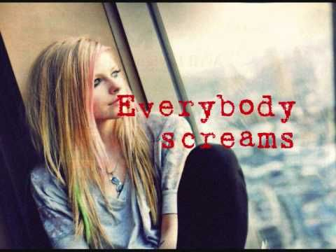 Avril Lavigne - Everybody Hurts Lyric Video