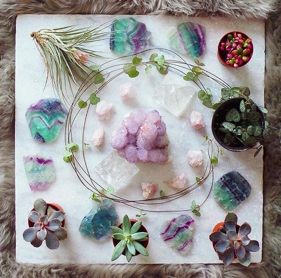 Crystals @thecolorfuldot