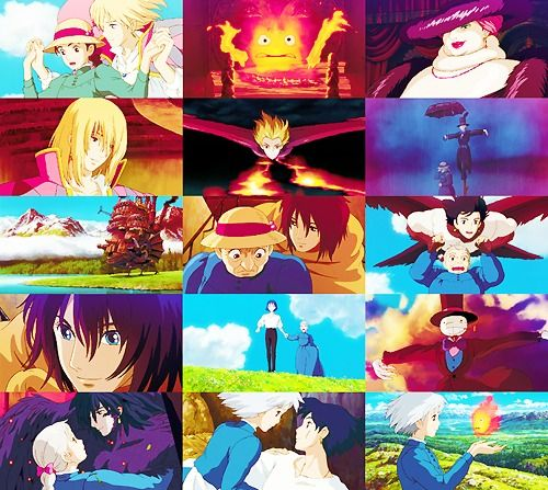 Films by Studio Ghibli       Howl's Moving Castle | ハウルの動く城 | Hauru no Ugoku Shiro | 2004