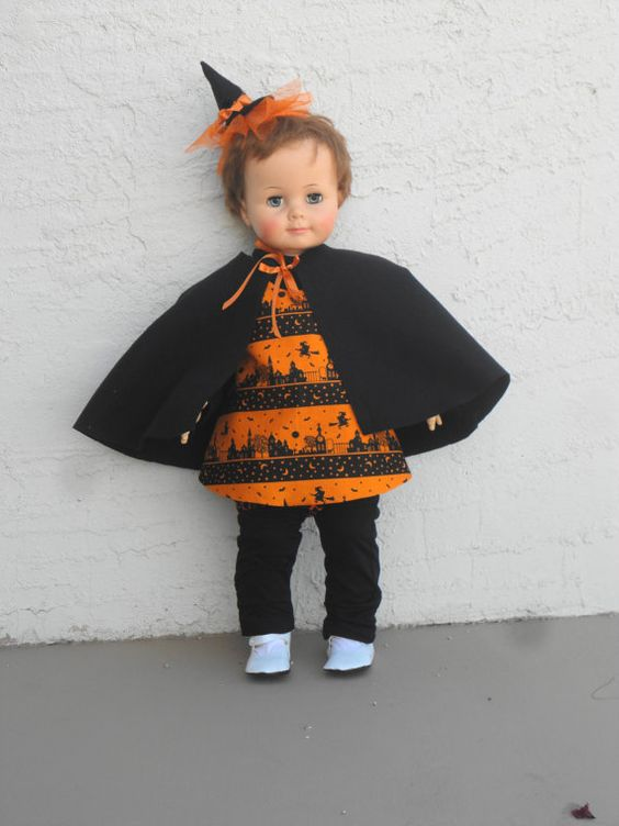 Witch Costume Toddler Halloween Witch Baby Witch by LizandLaurie ...