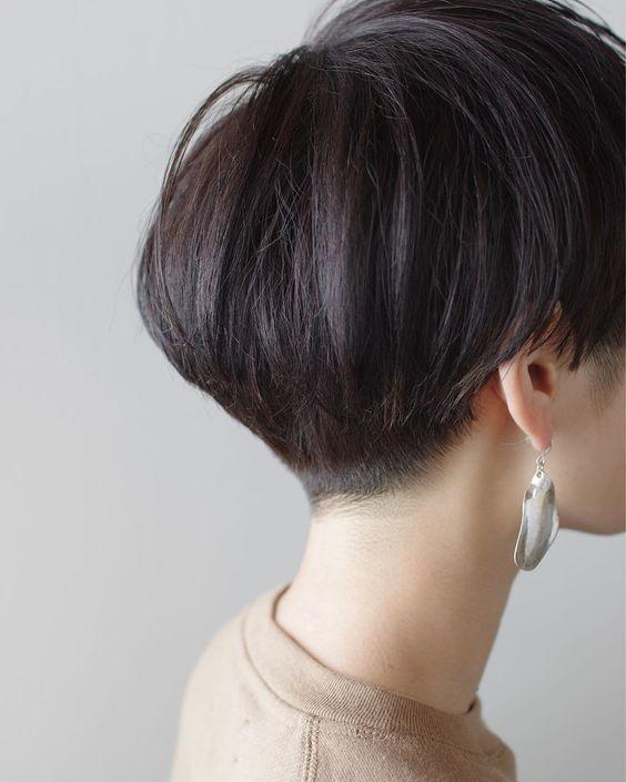Hikaru Haraはinstagramを利用しています まるっとマッシュ メニュー カット なるべく後頭部の形が良く見えるように