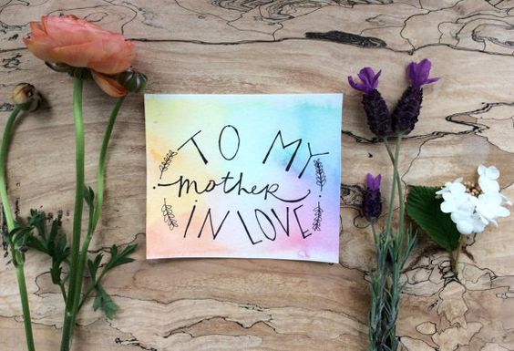 Mother-in-Love Card// Mother's Day Card// by LexyOlivia on Etsy