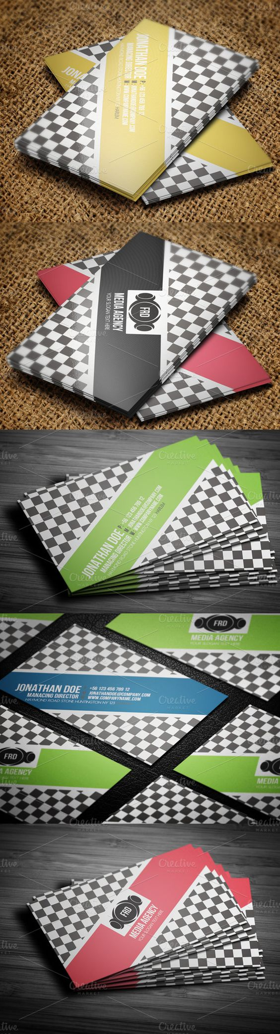 Elegant Business Card ~ Business Card Templates on Creative Market