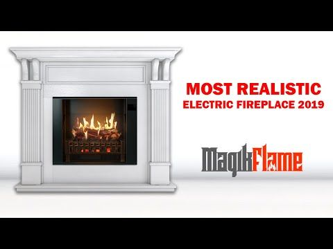 28 Magikflame Insert With 26 Realistic Flames Heater Sound No Mess Convert Existing Fi In 2020 Best Electric Fireplace White Electric Fireplace Electric Fireplace