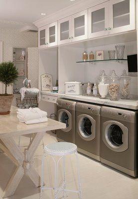laundry room - beach cottage
